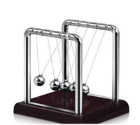 Classic Newtons Cradle Kinetic Balls Executive Educational T...