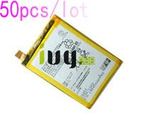 50 adet / grup 2900 mAh LIS1593ERPC Için Yedek Şarj Edilebilir Li-Polimer Pil Z5 E6653 E6683 E6603 E6883 E6633 Piller Batteria Batterij