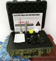 Ucuz E Tırnak Pelikan Elektrikli DAB Tırnak Menail Kontrol Balmumu PID TC Box Titanyum ile 10/16/20 mm Titanyum Tırnak Domeless