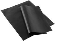 Antiaderente Reutilizável PARA CHURRASCO Grill Esteiras folha de cozimento mat para churrasco grill folha de cozimento Ao Ar Livre CHURRASCO Acessórios 40 * 33 CM