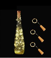 led strip 1M 10LED Lamp Cork Shaped Bottle Stopper Light Gla...