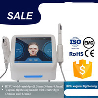Professional HIFU Beauty Machine High Intensity Focused Ultrasoud with 5 Cartridges for Face and Vaginal