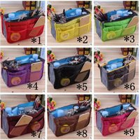 Women Insert Organizer Purse Makeup Case Handbag Storage Lin...