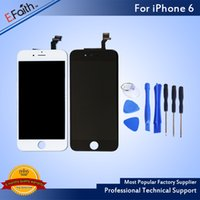 Grade A + + + LCD Screen For iPhone 6 6G LCD display With Touc...