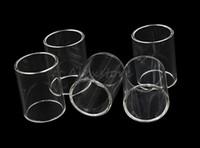 화려한 RTA LEMO 3 EVOD PRO Unimax 25 22 Ammit rta Moradin 25 ULTIMO Vaptio p1 Smoant mobula 교체 Pyrex Glass Tube