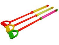 Chaude double-tube à haute pression pistolet à eau enfants de traction-dérive seringue pistolet à eau transparent pistolet à eau jouets en gros et au détail