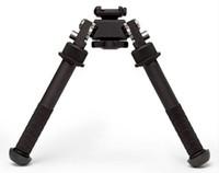 Quick Detach Rifle Bipod Atlas V8 BT10-LW17 Bipiede 21,7 mm Standard Rail Mount con ADM 170-S-TAC-R Leva per pistola / fucile / AR15