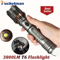 CREE XM- L T6 Flashlight 5mode 3800lm LED Tactical Torch Ligh...