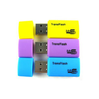2000 adet yüksek kalite YENI TIPI E USB TRANSFLASH MIKRO SD TF BELLEK KARTı ADAPTÖRÜ OKUYUCU 1 gb 2 gb 4 gb 8 gb 16 gb 32 gb DHL FEDEX ücretsiz