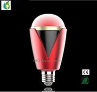6w Speakers Audio Music RGB Lamp Colorful LED Light Bulbs Co...
