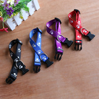 High Quality Small Dog Puppy Cat Adjustable Collars Nylon Pe...