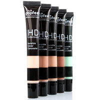 Popfeel 프로페셔널 HD 컨실러 보이지 않는 커버 액체 리페어 페이스 컨실러 Natural Bronzing Perfect Flawless Makeup Base