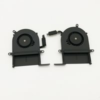Testing 100% good 2012 laptop cooling fan for macbook pro 13...