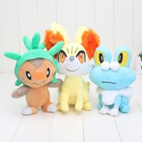New Pocket Center Piakchu Plush XY Series Chespin Fennekin F...