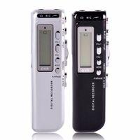 Registratore vocale vocale attivo 4GB Registratore vocale mini 8GB Supporto telefonico Registratore telefonico con lettore mp3 Penna di registrazione WAV
