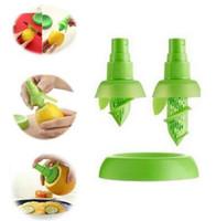 2 adet / takım Limon Portakal Suyu Püskürtücü Meyve Sebze Aracı Yemek Bar Plastik Limon Suyu Püskürtücü Sıkacağı Cozinha