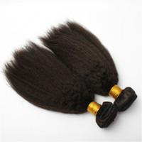 Capelli vergini brasiliani Tesse Bundleshuman capelli crespi trame diritte 10-30 pollici non trasformati peruviano malesi indiano tingibili capelli estensioni