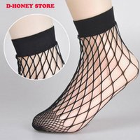 New Europe fashion 100 Pair Dress Black Sexy Fishnet Socks Donna / Donna Lace Sox Studenti Meias calcetines