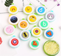 50pcs Mosquito Repellent Badge Button Buckle Colorful Baby P...