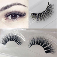 False Eyelashes Messy Cross Thick Natural Fake Eye Lashes Pr...