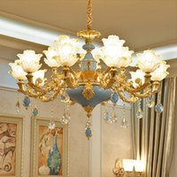 Salon moderne lustre penthouse hall de Villa Hotel centre commercial restaurant lustres de cristal chambre lampe suspendue