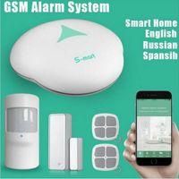 S3 Wireless PSTN Alarmanlage mit WIFI Funktion Unterstützung APP Control Home Security Personalverteidigung Einbruchsicherung 433mhz