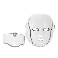 Anti aging PDT Güzellik Makinesi Led Işık Terapi Yüz Maskesi 7 Renkler cilt gençleştirme maske led