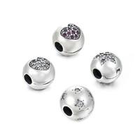 Bottom Preis Clip Charm Bead 100% Authentische 925 Sterling Silber Bead Für Pandora Original Armband Frauen Schmuck DIY Berloque