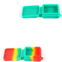 1 Piece Sample Test Wax Container Flat Slab Dab Silicone Con...