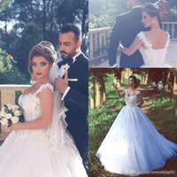Vestidos De Novia Middle East Style A Line Wedding Dresses W...