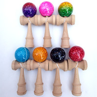 New marble Kendama 18. 5CM Boutique Japan Traditional Game be...