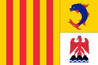 Frankreich Region Provence Alpes Cote d'Azur Flagge 3 ft x 5 ft Polyester Banner Fliegen 150 * 90 cm Benutzerdefinierte Flagge