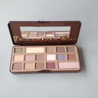 Natural 16 Colors Long Lasting Pearly Eyeshadow Palette Eye ...