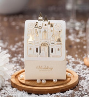 Wedding Party Favors Gifts Boxes Love Castle Sweet Chocolate Favors Paper Bags Boxes Wedding Favours Box with Bride and Groom