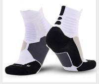 Kalın Havlu Çorap Elite Basketbol Futbol Açık Spor Çorap Ucuz İndirim Yeni Profesyonel Spor Çorap 5 Renk DHL Kargo