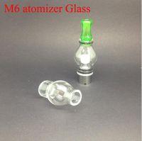 Globo de vidro atomizador tanque de cera pirex de vidro erva seca cigarros vapor vaporizador caneta cigarro eletrônico glassomizer atomizador de vidro para o ego
