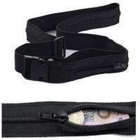 Wholesale- snowshine3 # 2501 Cintura portafogli antifurto da viaggio con scomparto segreto che nasconde la cintura salvadanaio