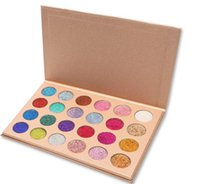 Newest Makeup CLEOF Cosmetics 24 color Glitter Eyeshadow Pal...