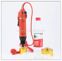 100% Garantia nova máquina garrafa elétrica nivelamento automático portátil, Cap Máquina de aparafusar, máquina de vedação tampa elétrica