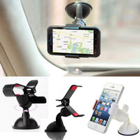 Vehicle mounted mini mobile phone frame 360 DEG rotating nav...