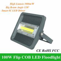 Outdoor COB proiettori 100W Intergrated lavata della parete del LED luce di inondazione 110V 220V lampada di alto potere di illuminazione impermeabile di paesaggio