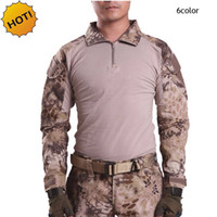 Wholesale ESDY Outdoor Brand Camouflage Long Sleeve Frog Sui...