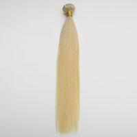 Exportieren Sie hochwertiges indisches remy Haar-brasilianisches Jungfrau-Haar-unverarbeitete gerade peruanische Menschenhaareinschlagfaden 3pcs / lot Grad 7A