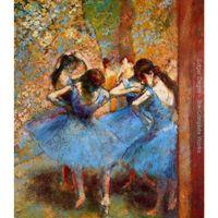 راقصة اللوحة التي كتبها إدغار ديغا الأزرق الراقصات الثاني قماش الاستنساخ الفن الحديث اليدوية جودة عالية