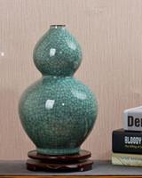 Vase en céramique de style chinois moderne 8 formes vase en céramique de table pour Home Hotel Office Club Bar Décor 3 couleurs choix