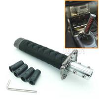Estilo JDM Curto Espada Samurai Shift Knob Shifter Esporte Metal Ponderado Katana Shift Knob com 12mm HoleFor Universal Carros