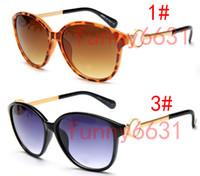 المعادن SUMMER المرأة الجديدة نظارات شمسية الكبار السيدات في الهواء الطلق الأزياء الرياح الأسود نظارات الفتيات القيادة نظارات شمسية انخفاض الشحن مجانا