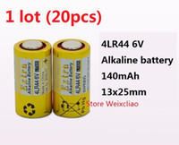 20 stücke 1 los 4LR44 476A 4A76 A544 V4034PX PX28A L1325 6 V trocken alkalische batterie 6 Volt Batterien Freies Verschiffen