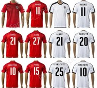 online store d5b02 dd58c coupon austria 9 okotie red home soccer country jersey c7214 ...