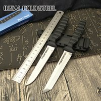 Cold steel Mini samurai fixed blade knife blade 7Cr14Mov ABS...